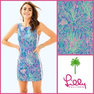 NWT Lilly Pulitzer Mila Shift in Coco Breeze